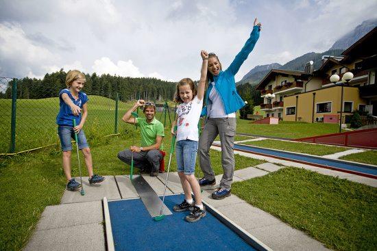 Sommerurlaub in Abtenau, Minigolf