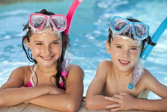 Sommerurlaub in Abtenau, Schwimmen