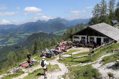 Landhaus Oberlehen - Sommeurlaub in Abtenau, Salzburger Land - Wandern - Gsengalmwanderung
