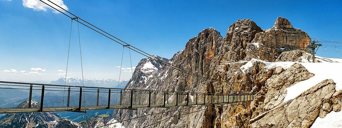 Ausflugsziele vom Landhaus Oberlehen aus - Dachstein Gletscher