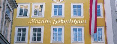 Ausflugsziele vom Landhaus Oberlehen aus - Mozart Geburtshaus