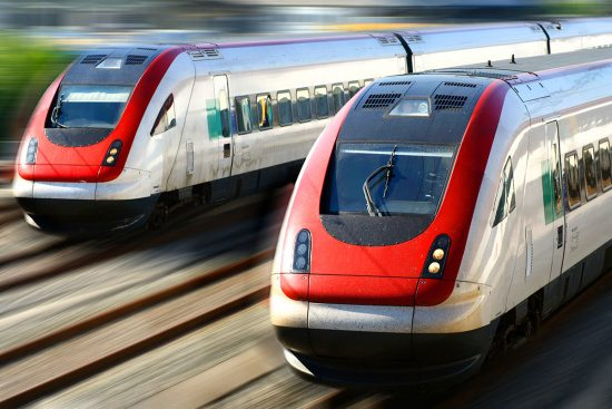 Anreise zum Ferienhaus Oberlehen - Bahn
