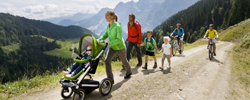 Sommerurlaub - Abtenau im Salzburger Land