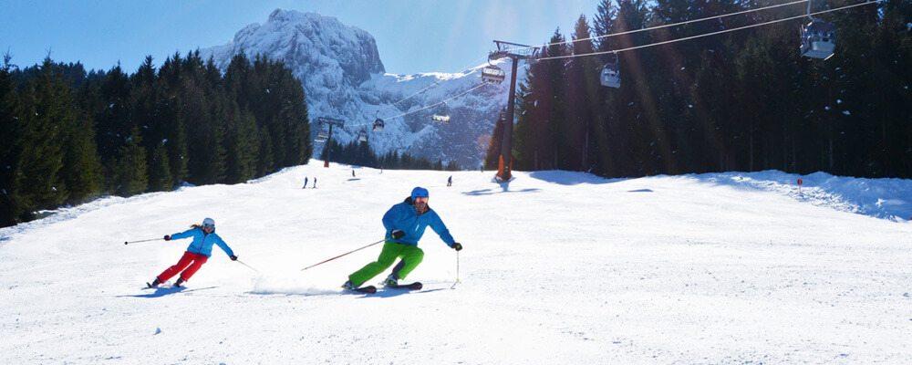 Skifahren in Abtenau, Salzburger Land