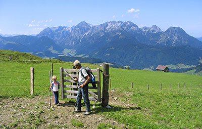 Sommerurlaub, Wanderurlaub - Abtenau - Landhaus Oberlehen