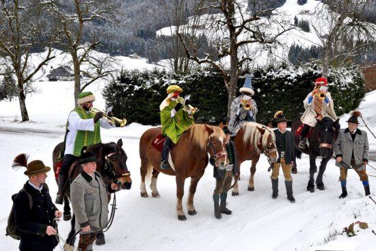 Tradition & Brauchtum - Abtenauer Königsreiter