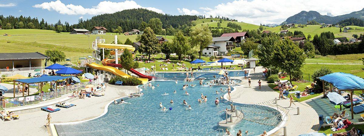 Ausflugsziele vom Landhaus Oberlehen aus - Erlebnisbad Abtenau