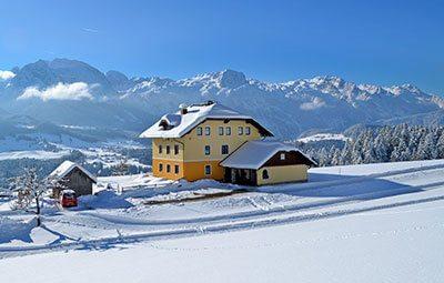 Winterurlaub in Abtenau, Landhaus Oberlehen