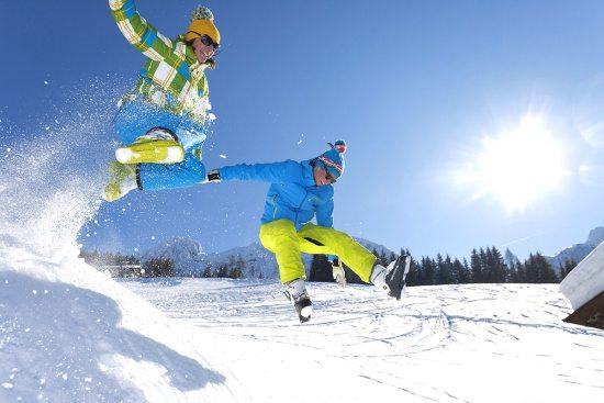 Winterurlaub in Abtenau - Landhaus Oberlehen - Winterfun